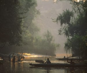 indonesia, photography, and river image