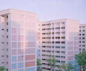 pastel, building, and aesthetic image