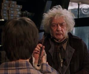harry potter, hogwarts, and wand image
