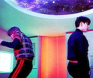 gif, look, and got7 image