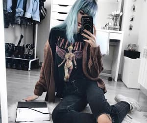 cool, grunge, and cool hair image
