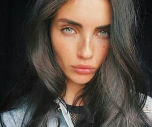 dark hair, girl, and gorgeous image
