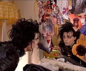 1990, drama, and edward scissorhands image