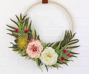 wall hanging, spring decor, and diy project image