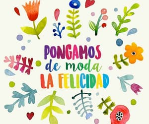 felicidad, colors, and frases image