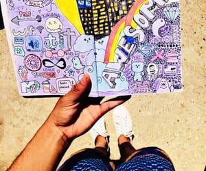diario, dibujo, and libro image
