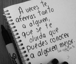 frases, conocer, and sad image