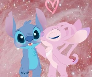 disney, love, and stich image