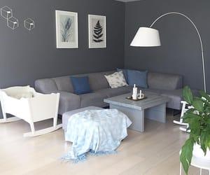 Blanc, blue, and maison image