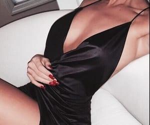 black, diamond, and fashion image