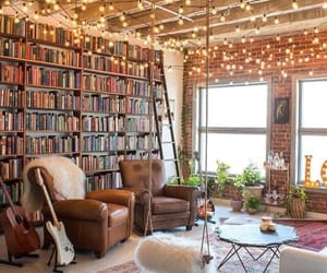 aesthetic, lights, and apartment image