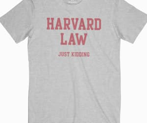 harvard, school, and t shirt image