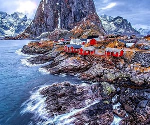 amazing, norway, and ocean image