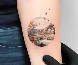 art, illustration, and illustrative tattoo image