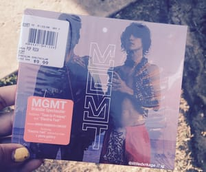 bands, MGMT, and psychadelic image