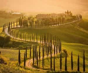 italy, Tuscany, and wanderlust image