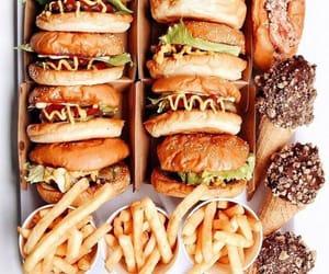 burgers, food, and fast food image
