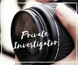 detective, private investigator, and private investigation image