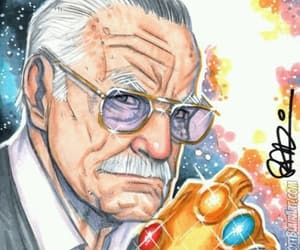 Marvel, stan lee, and marvel comic book image