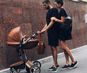 baby, black, and family image