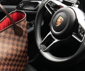 car, porsche, and fashion image