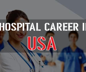 career, hospital, and jobs image