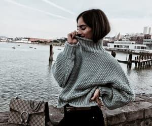 fashion, beauty, and sweater image