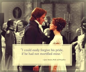pride and prejudice, jane austen, and quotes image