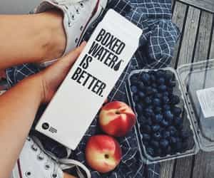 better, boxed water, and white image