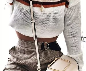 fashion, stripes, and sweaters image