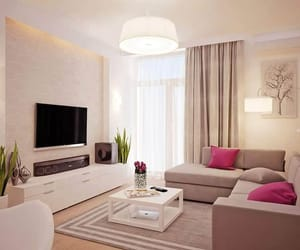 living room, home, and white image
