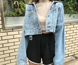 fashion, casual, and girl image