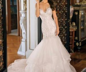 dress, wed, and wedding image