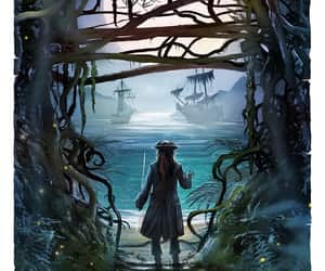 johnny depp, pirates of the caribbean, and dead men tell no tales image