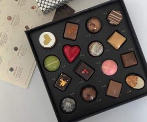 black, food, and pink image