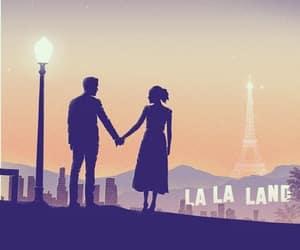 emma stone, ryan gosling, and la la land image