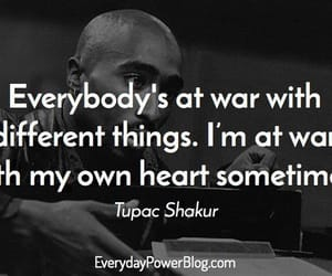 tupac and words image