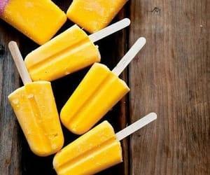 summer, ice cream, and food image