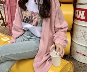 aesthetic, kfashion, and korean girl image