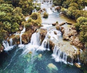 blue, Croatia, and green image