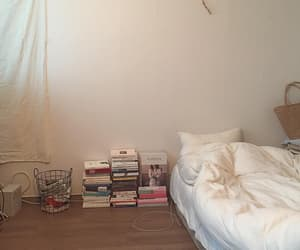 bedroom, beige, and minimalist image