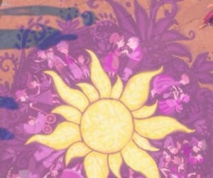 disney, rapunzel, and purple image