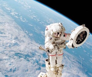 space, astronaut, and nasa image