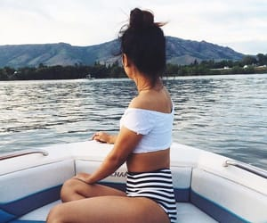 blue, boat, and bun image