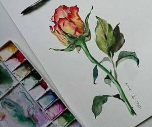 rose, art, and beautiful image