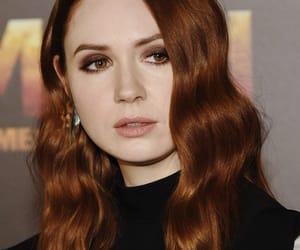 actress, fashion, and makeup image