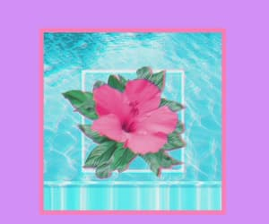 flowers, wallpaper, and vaporwave image