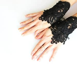 accessories, gothic, and goth gothic image