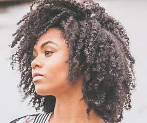 beauty, black women, and kinky hair image