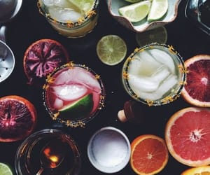 cocktail, drink, and food image